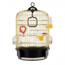 FERPLAST Regina - Gabbia ottonata per canarini, esotici e altri piccoli uccelli