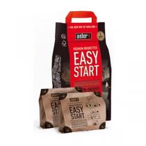 WEBER Bricchetti di Carbone Easy Start Premium - Sacco 1,4kg