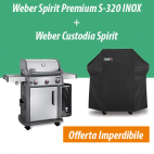 Weber Spirit Premium S-320 GBS Inox