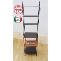 ceart etagere 6 piani in ferro battuto marrone