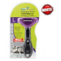 FURminator spazzola gatti grandi pelo lungo