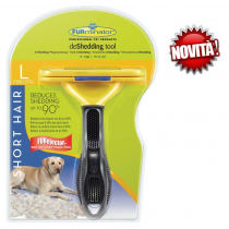 FURminator spazzola cani taglia media pelo corto
