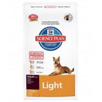 Hill's science plan light medium pollo 12 Kg