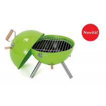 Mini barbecue a carbone Ø 30 cm green