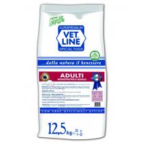 Crocchette per cani Vet Line monoproteico adulti bufalo 12,5 Kg