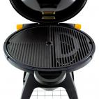 Il Bracere barbecue a gas porcellanato Bugg arancione