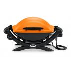 Barbecue elettrico Weber Q 1400 orange arancione