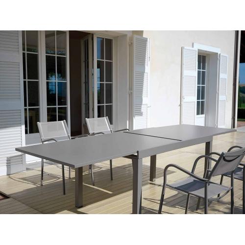 Vermobil tavolo sofy estensibile fango 140 280 x 90 for Tavolo estensibile