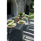Tavolo da giardino Greenwood Ravello RTY 16 in alluminio