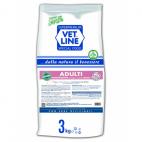 Crocchette per cani Vet Line monoproteico adulti maiale 3 Kg