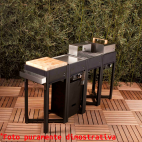 OneQ Flame set barbecue componibile a gas