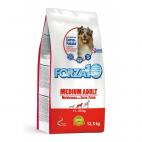 Crocchette per cani Forza 10 medium mantenimento cervo e patate 15 Kg