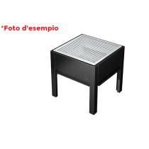 OneQ barbecue componibile bbq a carbonella