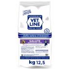 Crocchette per cani Vet Line salute monoproteico cervo 12,5 Kg