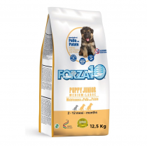 Crocchette per cani Forza 10 puppy junior medium/large pollo e patate 12,5 Kg