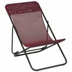 Lafuma sedia sdraio LFM2502_8230 maxi transat colore rubis