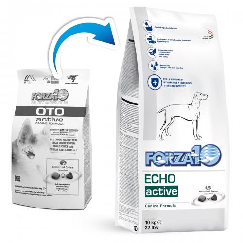 Crocchette per cani Forza 10 echo active (ex oto active) 10 kg
