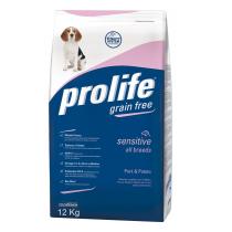 Prolife maiale e patate grain free 12 kg PROMO x2!