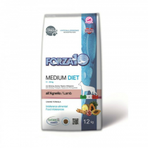 Crocchette per cani Forza 10 medium diet agnello 12 Kg