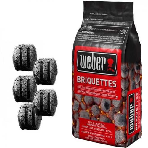 Weber bricchetti carbone 4 Kg