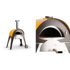 Alfa pizza forno a legna refrattario Ciao giallo