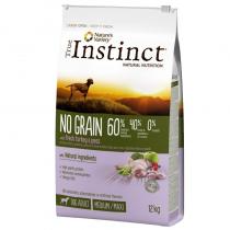Crocchette per cani True Instinct grain free medium maxi adult tacchino 12 Kg