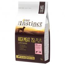 Crocchette per cani True Instinct high meat medium maxi adult salmone e tonno 2 Kg