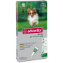 Bayer advantix cani spot-on da 0 a 4 kg 4 pipette