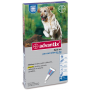 Bayer advantix spot-on per cani oltre i 25 kg 4 pipette