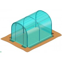 Stocker 9610 mini serra tunnel per orto 2 x 3 m