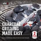 Cesti porta carbone Weber 2 pz. 7403 per barbecue Ø 47, 57 e 67 cm