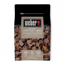 Cubetti accendifuoco barbecue Weber 48 marroni 17612