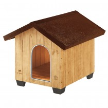 Ferplast domus medium cuccia per cani in legno
