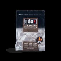 Weber 22 cubetti accendifuoco barbecue diavolina 17670