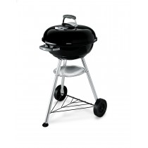 Barbecue a carbone Weber compact kettle Ø 47 cm nero...