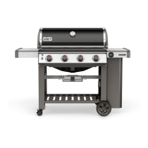 Barbecue gas Weber Genesis II E-410 black 62010129