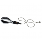 FERPLAST Ergocomfort Metal GM - Guinzaglio per Cani con catena in metallo - 3 Taglie