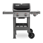 Barbecue a gas Weber spirit II E-220 GBS black 44012129