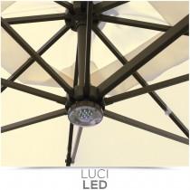 Ombrello da giardino Greenwood E5023 con luci led