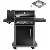 Barbecue a gas Weber spirit original E-320 black nero