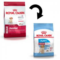 Crocchette per cani Royal canin medium puppy 4 Kg
