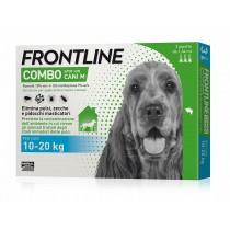 Frontline combo spot-on cani medi 10-20 Kg 3 pipette