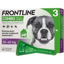 Frontline combo spot-on cani grandi 20-40 Kg 3 pipette