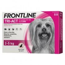 Frontline Tri-Act cani taglia mini 2-5 Kg 3 pipette