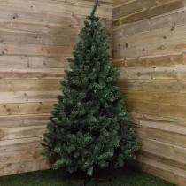 Albero di natale pino Kaemingk Imperial verde 210 cm