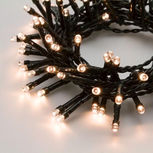 Luci di Natale Lotti 180 LED bianco caldo  7,15 m