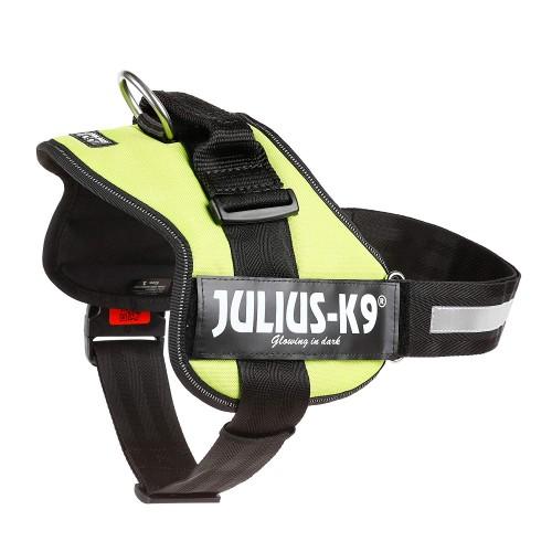 Pettorina per cani Julius K9 1/L verde 66-85 cm