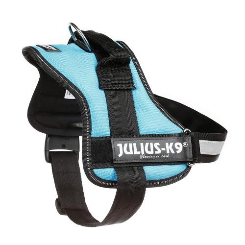 Pettorina per cani Julius K9 mini/M-L azzurro  58-76 cm