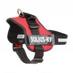Pettorina per cani Julius K9 L-XL rosso 71-96 cm