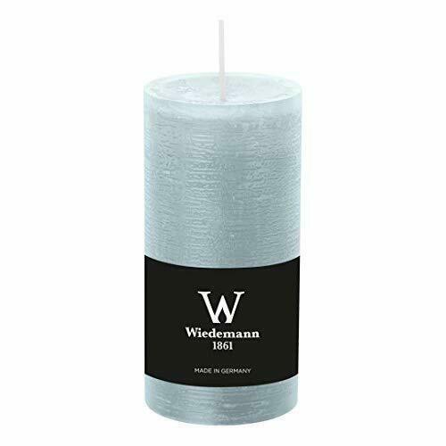 Wiedemann candela moccolo Marble azzurro ghiaccio 190/68 mm